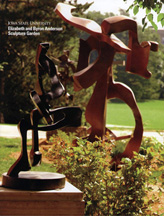 Elizabeth and Byron Anderson sculpture garden publication cover