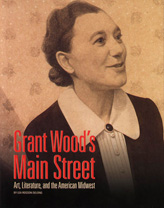 Grant Wood's Main Street publication cover