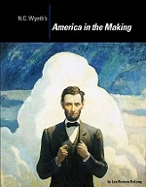 NC Wyeth's America in the making publication cover